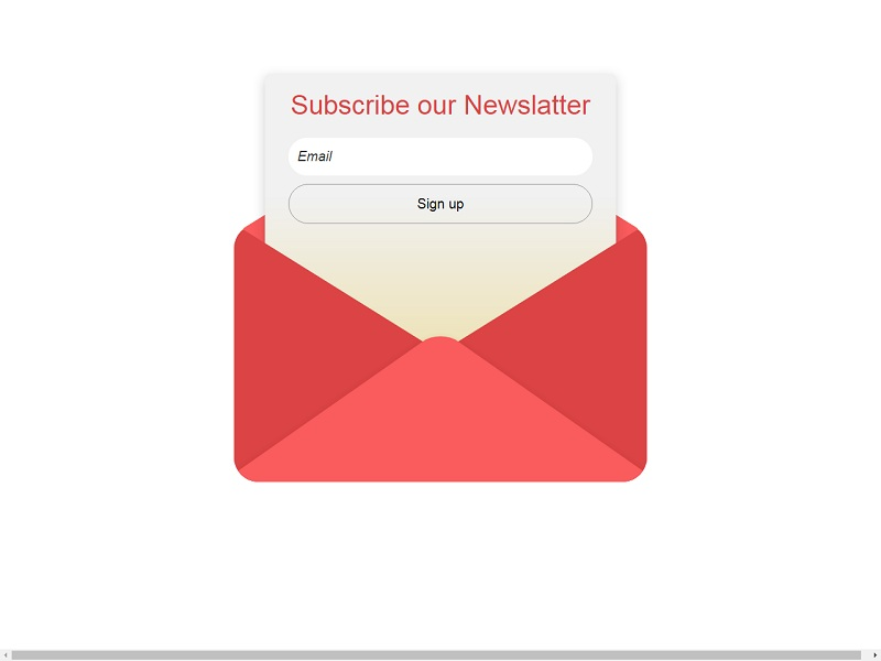 Modified Subscribe Form