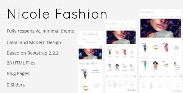 Nicole Fashion HTML Template