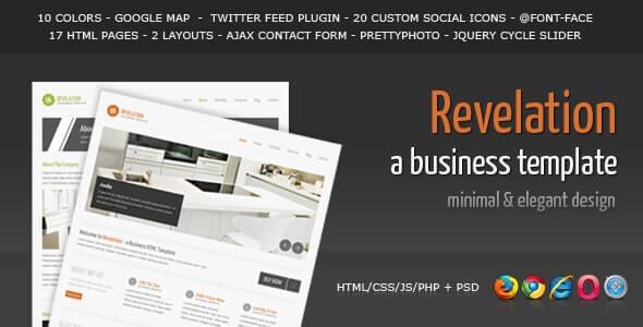 Revelation Business HTML Template