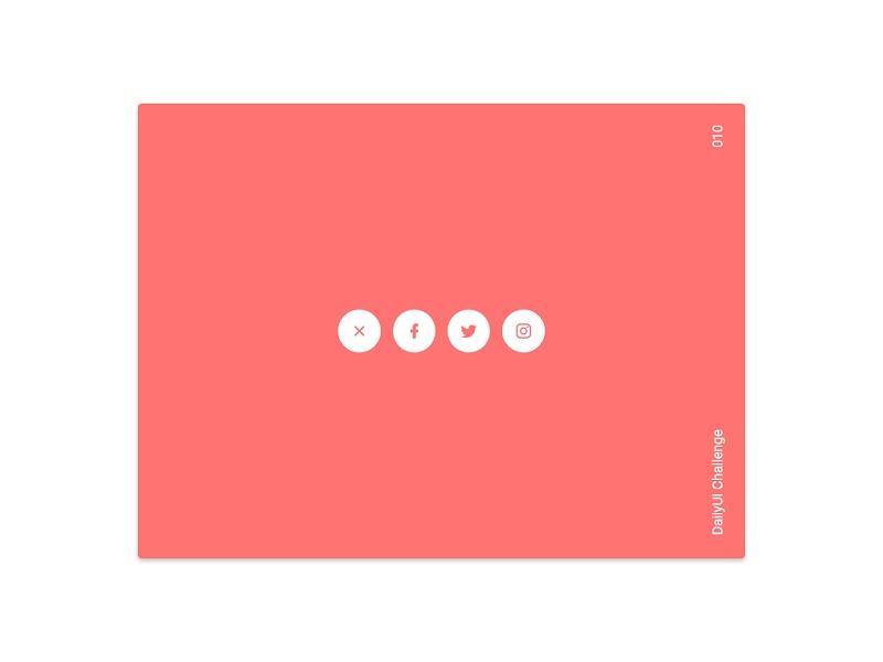 Social Share Button 3