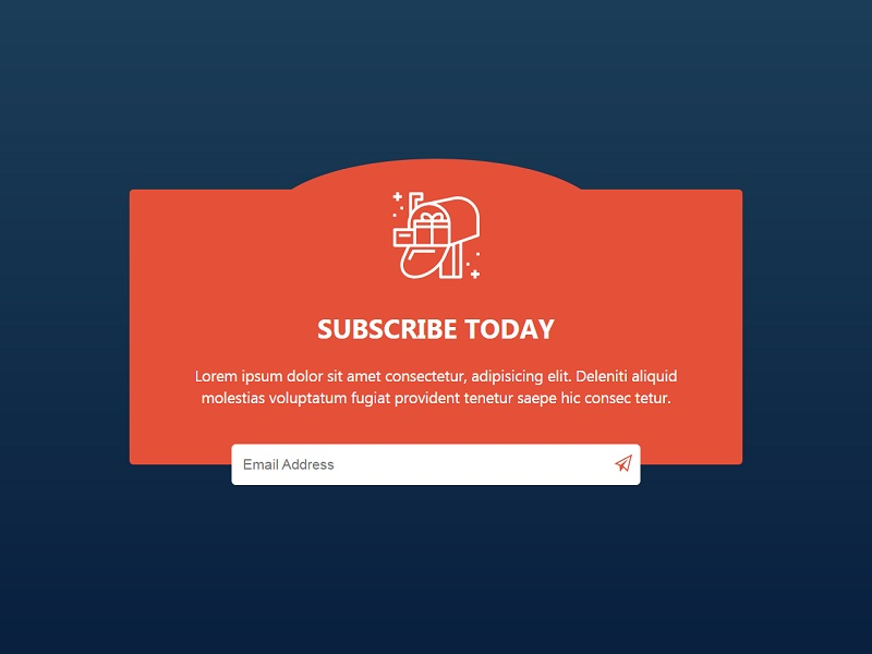 Subscribe Form UI 1