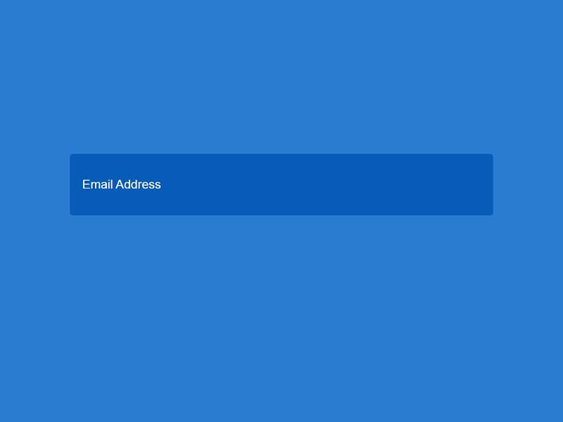 CSS Subscribe Forms