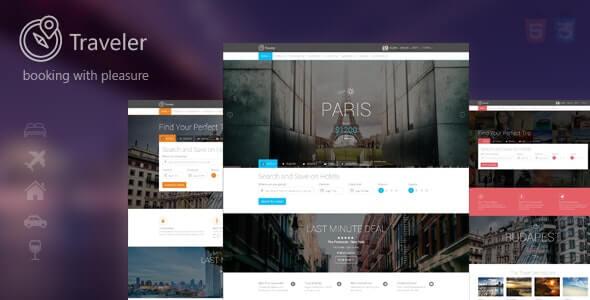 Traveler Travel HTML Template