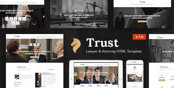 Trust Lawyer HTML Template