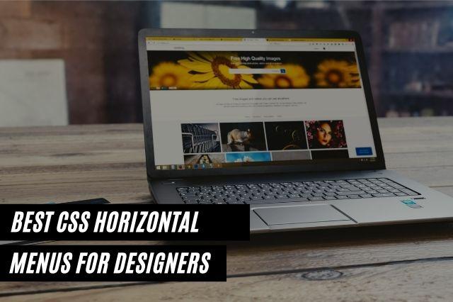 Best CSS Horizontal Menus