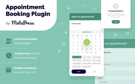 Appointment Booking Plugin for Elementor