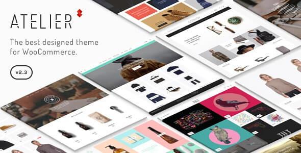 Atelier Ecommerce WordPress Theme
