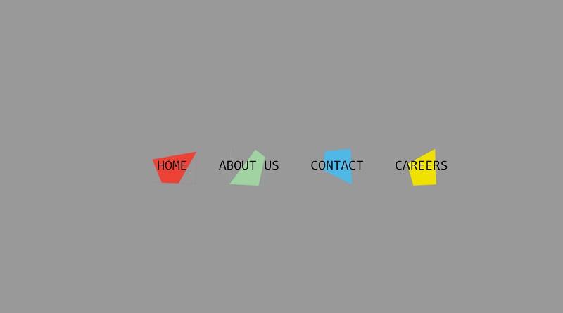 CSS Horizontal Menus Concept