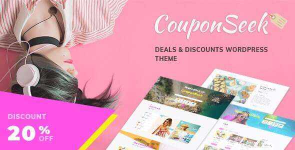 CouponSeek Coupon Theme For WordPress