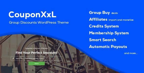 CouponXxL Coupon WordPress Theme