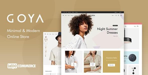Goya WooCommerce Theme for WordPress