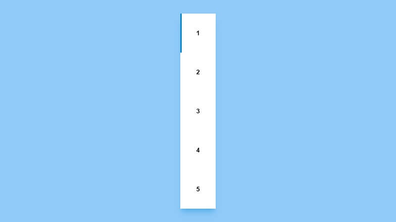 Line Follow Pagination Designs