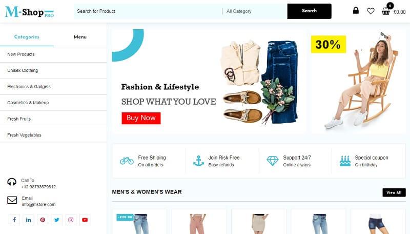 M Shop Pro 1