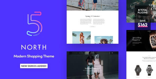 North WooCommerce WordPress Theme