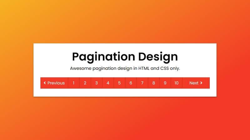 Pagination Designs
