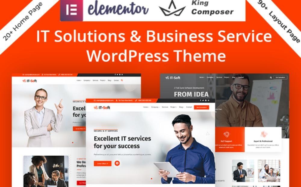 Technology IT Solution Services WordPress Theme