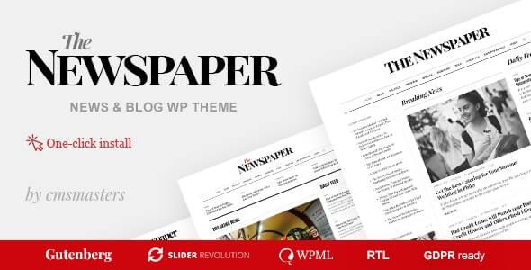 The Newspaper WordPress Theme