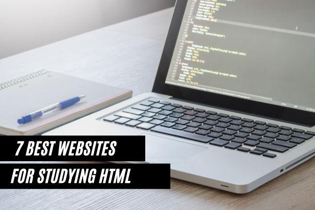 Best Websites For Studying HTML