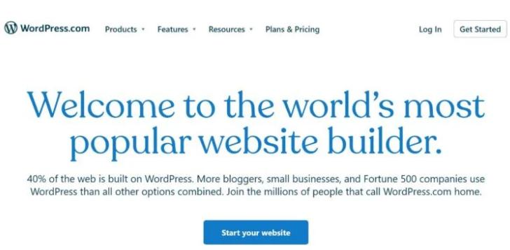 WordPress.com Free Blogging Platform