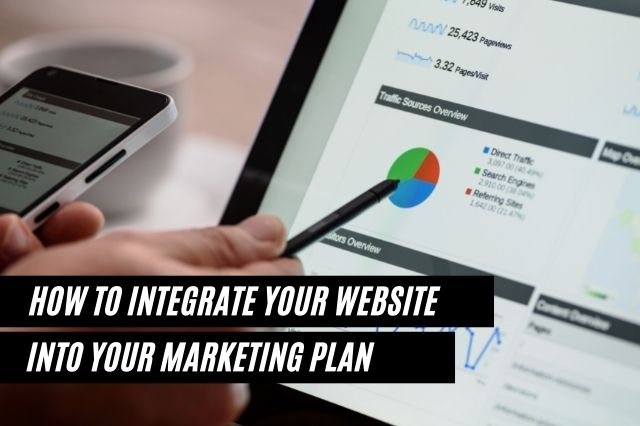 How To Integrate Your Website Into Your Marketing Plan