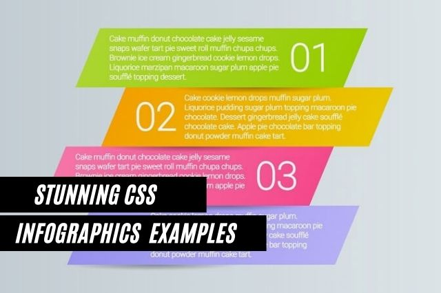 CSS Infographics Examples