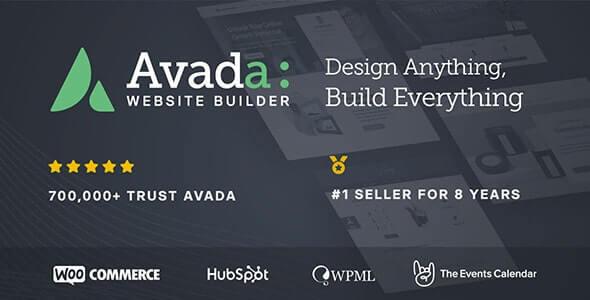 #1 selling WordPress theme Avada