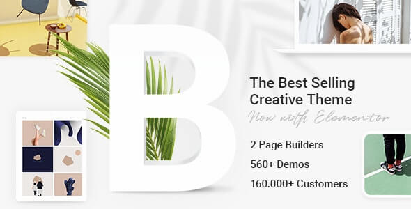 Best selling creative theme Bridge for WordPress