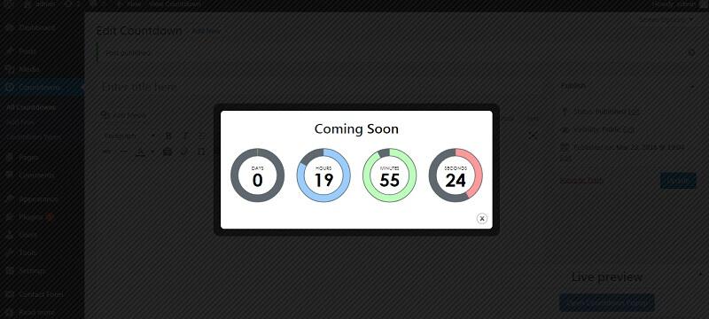Countdown & Clock