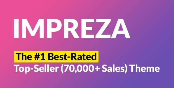 Impreza Best Selling WordPress Theme