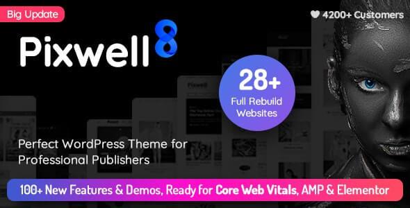 Pixwell Tech Blog Theme For WordPress