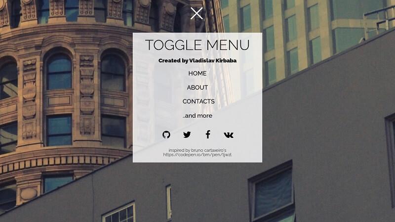Toggle Menu