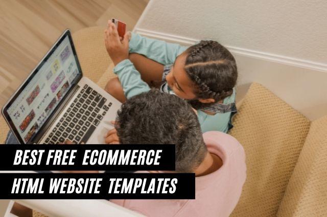Best Free Ecommerce HTML Website Templates