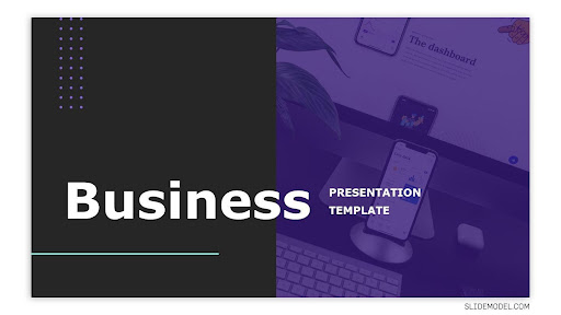 Business Proposal PowerPoint Template with Creative Background