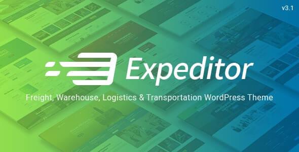 Expeditor WordPress Transportation Theme