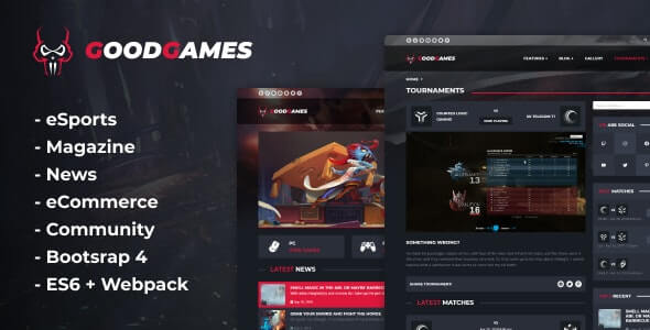 Good Games Gaming HTML Template