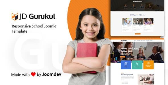 JD Gurukul Joomla Education Theme