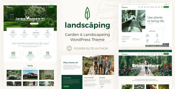 Landscaping Agriculture WordPress Theme