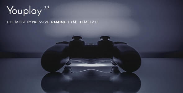 Youplay Gaming HTML Template