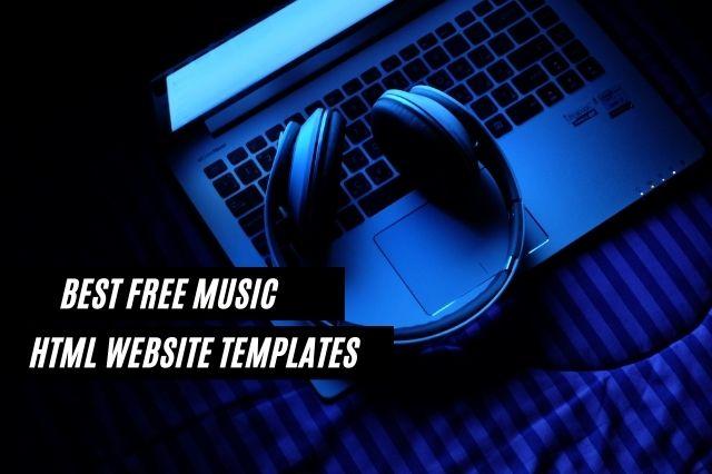 Best Free Music HTML Website Templates