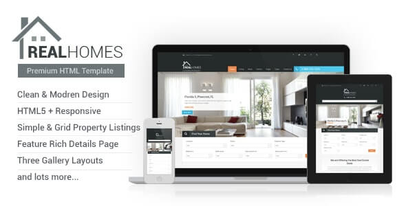 Real Homes Real Estate HTML Template