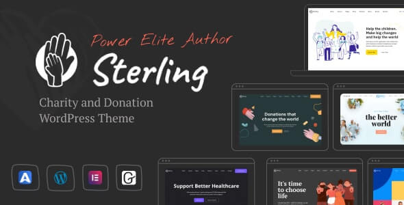 Sterling Charity HTML Template